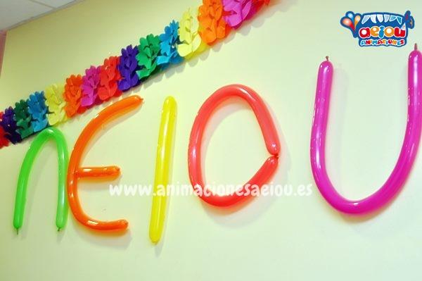 Decoración para fiestas infantiles en Valencia