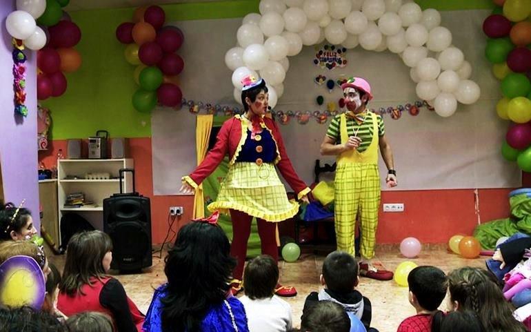 Payasos para fiestas infantiles en Valencia