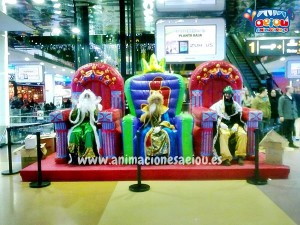 animadores fiestas para niños navidad valencia