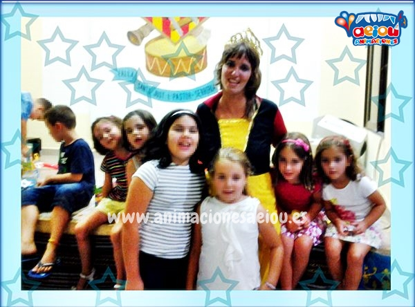 animacion cumpleaños infantil a domicilio