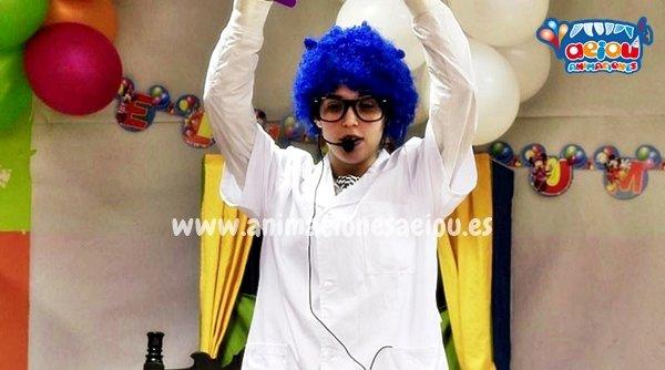 animadores de fiestas infantiles en valencia