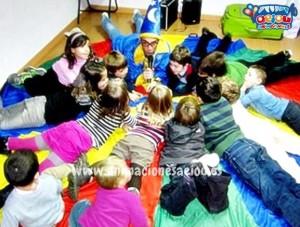 5 juegos para los cumpleaños infantiles en espacios pequeños.