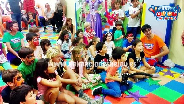 animadores para fiestas de cumpleaños infantiles en Valencia