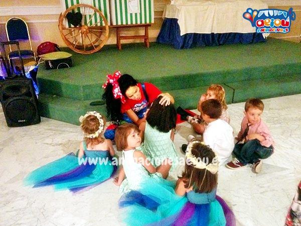 Actividades para niños en un bautizo