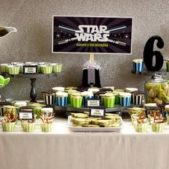 Cómo decorar una fiesta infantil de Star Wars