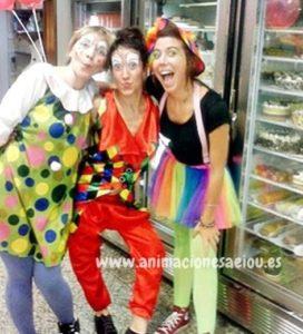 Payasos fiestas cumpleaños infantiles Valencia