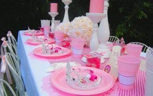 Como organizar tu fiesta tematica de princesas para cumpleaños en Valencia