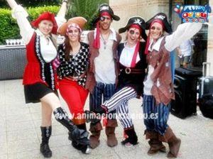 Juegos piratas para niños en Valencia