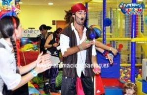 Piratas infantiles en Valencia