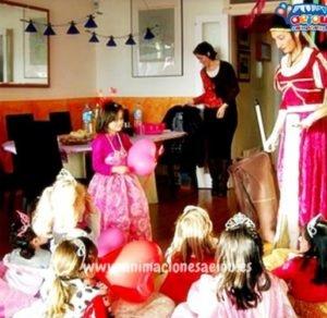 Fiestas de princesas a domicilio en valencia