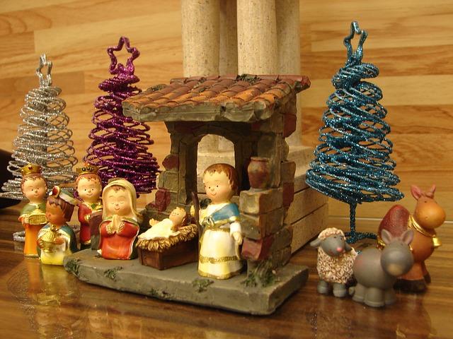 Belenes navideños originales para los niños pequeños