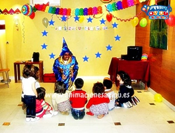 Animación de cumpleaños infantiles en Aldaia