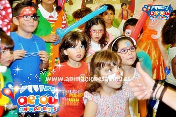 Animaciones de fiestas infantiles en Oliva