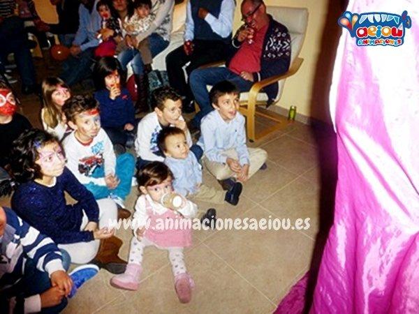 Animación de cumpleaños infantiles en Oliva