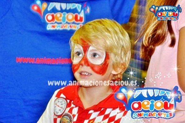 Animaciones para fiestas de cumpleaños infantiles y comuniones en Ontinyent