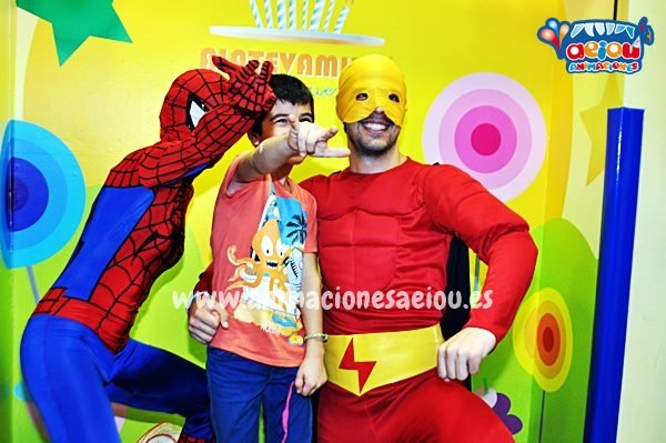 Animaciones para fiestas de cumpleaños infantiles y comuniones en Paterna