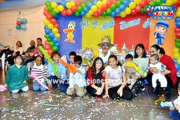 Animaciones para fiestas de cumpleaños infantiles y comuniones en Puzol