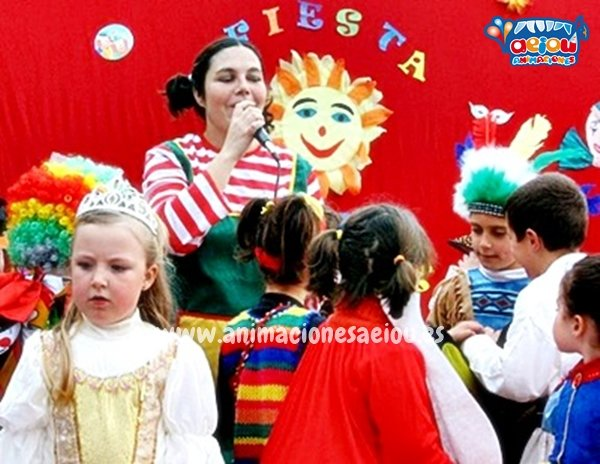 Animaciones para fiestas de cumpleaños infantiles y comuniones en Sagunto