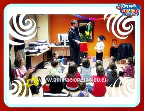 Animaciones para fiestas de cumpleaños infantiles y comuniones en Torrent
