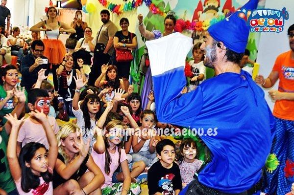 Animación de cumpleaños infantiles en Xirivella