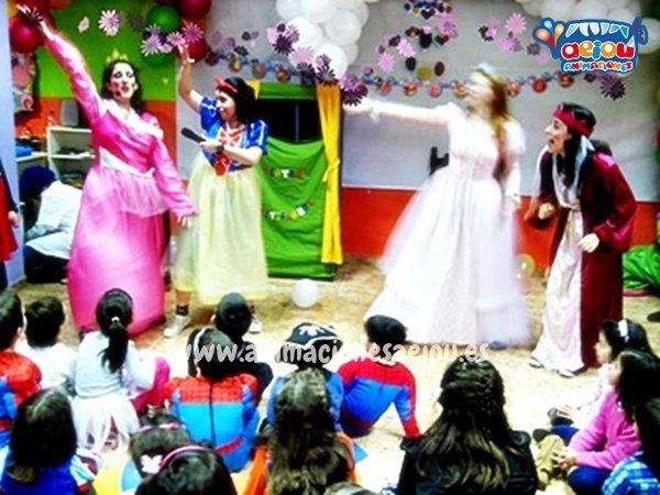 Animadores para fiestas temáticas de princesas en Valencia