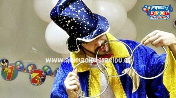 Magos de fiestas infantiles en Pobla de Vallbona