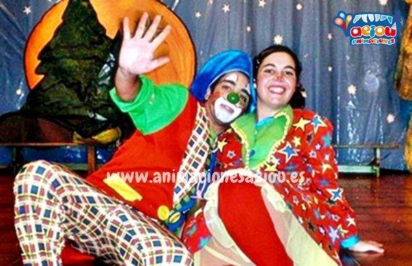 Payasos para fiestas infantiles en Ontinyent
