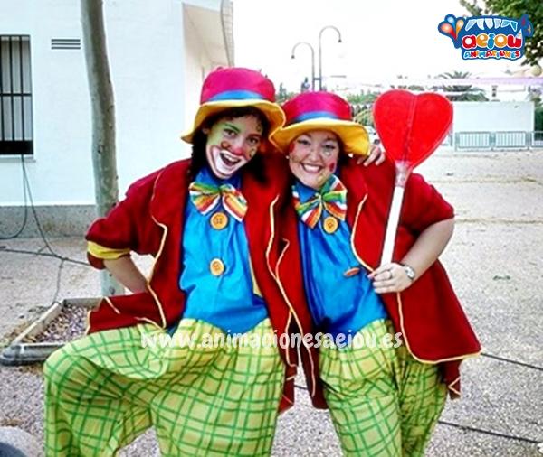 Cómo contratar un animador infantil en Valencia-payasos